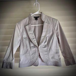 WHBM Crop blazer jacket - size 6